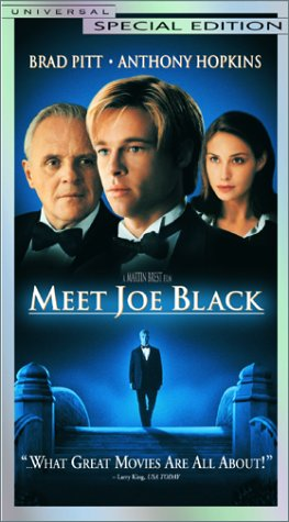 Bilderesultat for meet joe black dvd cover