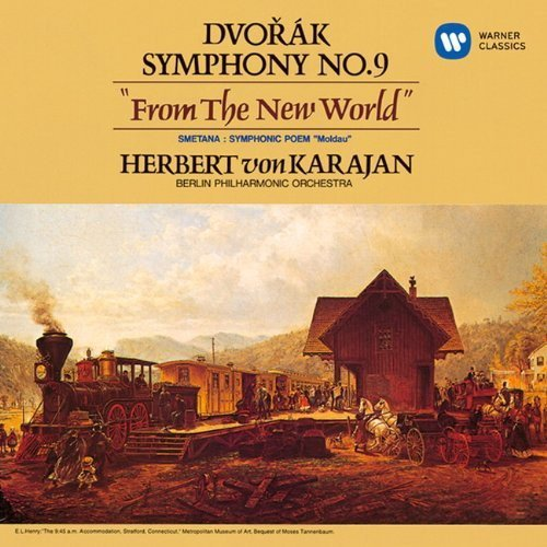 CD : Herbert von Karajan - Dvorak: Symphony No.9 'from The New World' (Japan - Import)