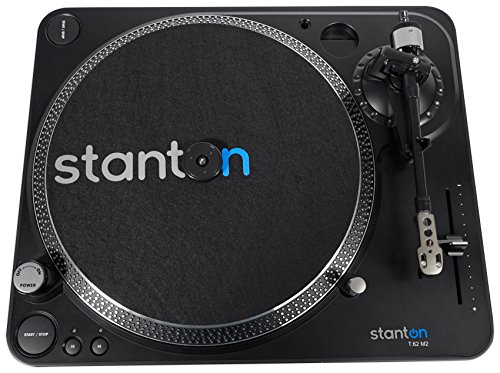 Stanton T.62 M2 Direct-Drive Straight-arm DJ Turntable w/300 cartridge