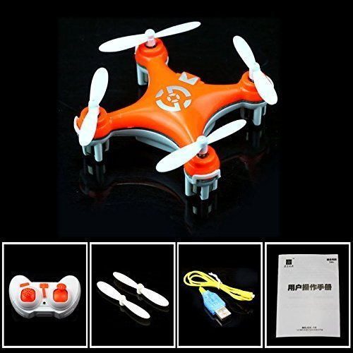 Cheerson CX-10 Mini 29mm 4CH 2.4GHz 6-Axis Gyro LED RC Quadcopter Bright...