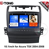 10.1inch Android 6.0 Car Radio DVD Stereo For For Acura TSX 2004-2008 GPS Navigation Support Steering Wheel control full touch 1024X600
