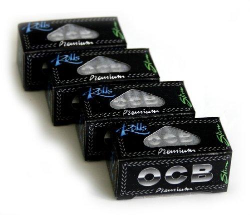 (OCB Premium SLIM ROLLS x 4 rolls)