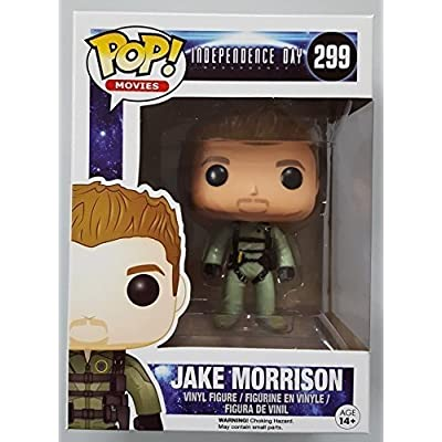 Funko POP Movies: Independence Day 2 - Jake Morrison Action Figure: Funko Pop! Movies:: Toys & Games