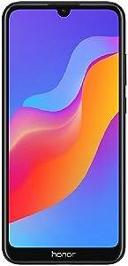 "Honor 8A (32GB) 6.09"" HD+ Display, Dual SIM 4G LTE GSM Factory Unlocked Smartphone - International Version JAT-LX3 (Black)"