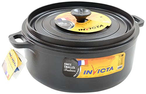 Invicta Cocotte Mijoteuse Ronde Diamètre Noir 28 cm product image