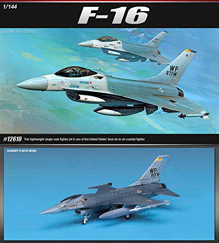 (Academy 12610 F-16 Fighting Falcon 1/144 Scale Model Kit)