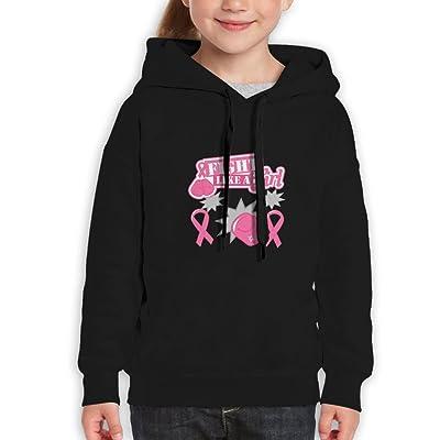 Bjfdbklseg Fight Like A Girl Children's Clothing Girl Boy Hoodie Sweatshirt Show Hoodie.