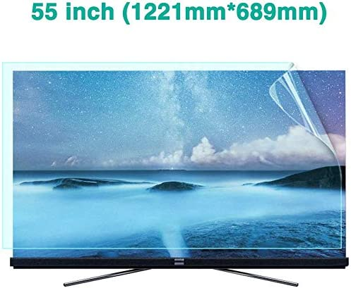BYCDD 55 Pulgadas TV Protectores de Pantalla, Reducción De ...