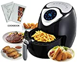 GAMT Mini Air Fryers 2.7QT with Airfryer Cookbooks, 7-in-1 Preset Touch-Activated Screen Cooking Settings Black Review