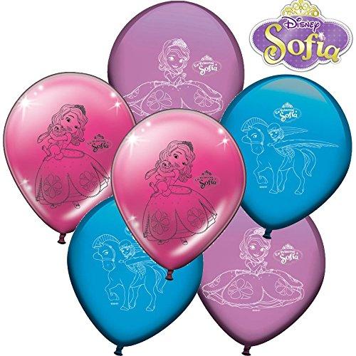 8 globos con la Princesa Sofía para fiestas de cumpleaños ...