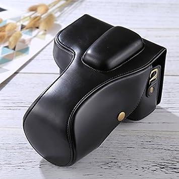 Wewoo - Funda de Piel para Cámara Nikon D3200/D3300 Lente 18 - 55 ...