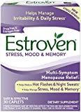 Estroven Plus Multi-Symptom Stress, Mood and Memory, One Tablet Per Day, 30 Count