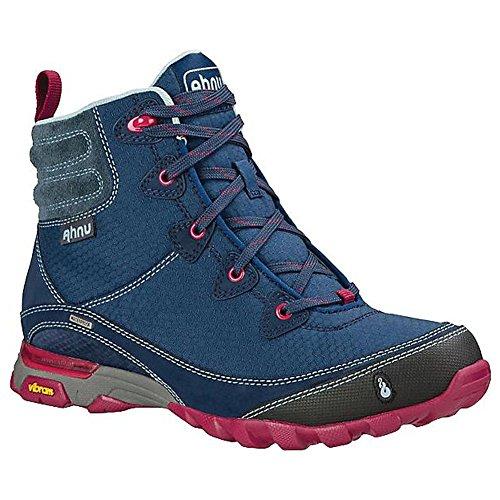 Ahnu Women's Sugarpine Waterproof Hiking Boot, Blue Spell, 7.5 M US by Ahnu