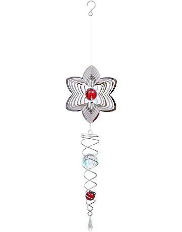 Yosoo Indien Capteur de R/êves avec Plume Naturelle Perle Attrapeur de R/êves Tenture Carillons de Vent D/écoration Suspendue Fen/être Int/érieure Cadeau