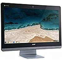 Acer Chromebase 24 DQ.Z0DAA.001 CA24I All-in-One Computer - Intel Celeron 3215U 1.7 GHz Dual-Core Processor - 4 GB DDR3L SDRAM - 16 GB Solid State Drive - 23.8-inch (Certified Refurbished)