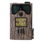 KOLINLOV Trail Camera 12MP 1080P Wildlife Game Hunting Camera Infrared Night Vision 48pcs IR LEDs Waterproof IP56 Surveillance Scouting Animal Trap Deer Camera