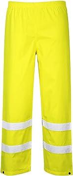 TALLA M. Portwest S480 - Hi-Vis Tráfico Plancha, color Amarillo, talla Medium