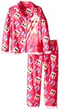 Barbie Little Girls' Coat Set, Pink, X-Small(4/5)