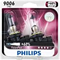 2 Pk. Philips 9006 VisionPlus Headlight / Fog Light Bulb