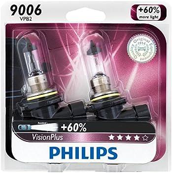 2 Pk. Philips 9006 VisionPlus Headlight / Fog Light Bulb