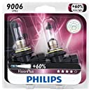 Philips 9006 VisionPlus Upgrade Headlight / Fog Light Bulb, Pack of 2
