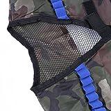 Fody Camo Tactical Vest Kit for Nerf N-Strike Elite Series Gun Game + 20-Dart Refill + Vision Gear + 5-Dart Quick Reload Clip + 12-Dart Quick Reload Clip + Camouflage Face Tube Mask