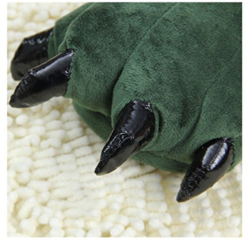 panda supermarket  The Dinosaur Claws Cotton Slippers, Damen Hausschuhe Blau