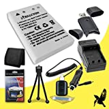 Halcyon 1500 mAH Lithium Ion Replacement EN-EL5 Battery and Charger Kit + Memory Card Wallet + SDHC Card USB Reader + Deluxe Starter Kit for Nikon Coolpix 5900 5MP Digital Camera and Nikon EN-EL5