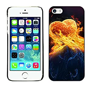 Hot Style Cell Phone PC Hard Case Cover // M00101000 love art abstract // Apple iPhone 5 5S