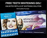 Advanced Teeth Whitening Kit with Unlimited Free Refills – Best Teeth Whitening at Home - Order Now RISK FREE