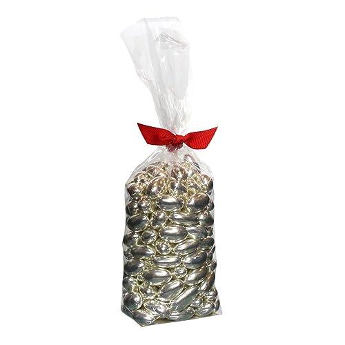 Rita Farhi Silver Sugared Almond Dragees in a Gift Bag, 500 g
