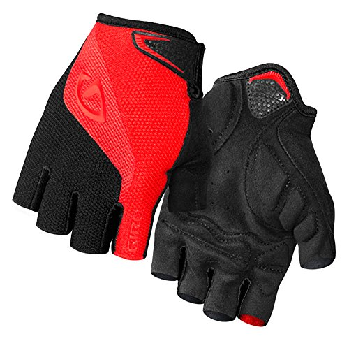 Giro Bravo Gloves, Red/Black, Medium/15