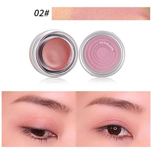 Creazy Beauty Waterproof Eyeliner Gel Cream Eye Liner Eye Shadow Gel Makeup Cosmetic (B)