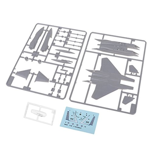 MagiDeal 1:144 Military Aircraft America F-15A Eagle Model Building Kits Plane Gift from Unknown