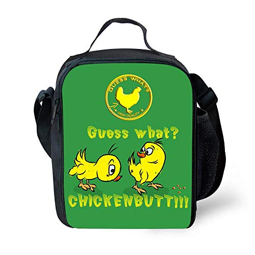 ZVLPE Children's Lunch Bag Insulation Cold Pack Personality Mix and Match Puppy Outdoor Meal Bag Handbag School Lunch Box, YHJ -123