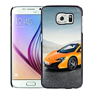 New Personalized Custom Designed For Samsung Galaxy S6 Phone Case For 2015 McLaren 650S Spider Yellow Phone Case Cover