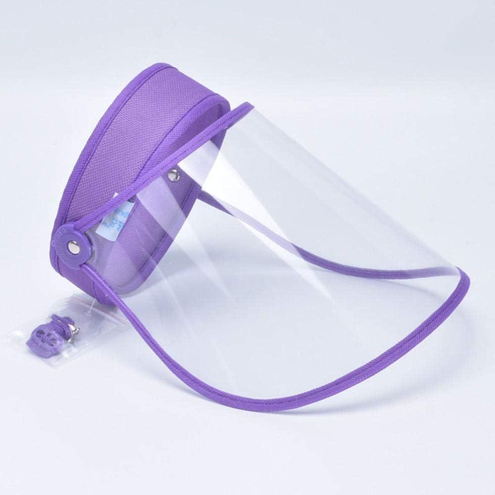 5 unidades por paquete, máscara protectora para la cara con tapa protectora de cara completa, sombrero protector de protección multiusos 5
