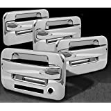 MaxMate 04-13 Ford F150 Not for Heritage Chrome 4 Doors Handle Cover W/O Passenger Side Keyhole With Key Pad