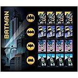 2014 Batman DC Comic Full Sheet of 20 Forever Stamps Scott 4928-35 By USPS