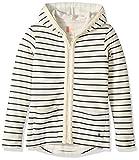 Roxy Big Girls' Full of Love Fleece Sweatshirt, Metro Heather Heaven Stripe, 14/XL