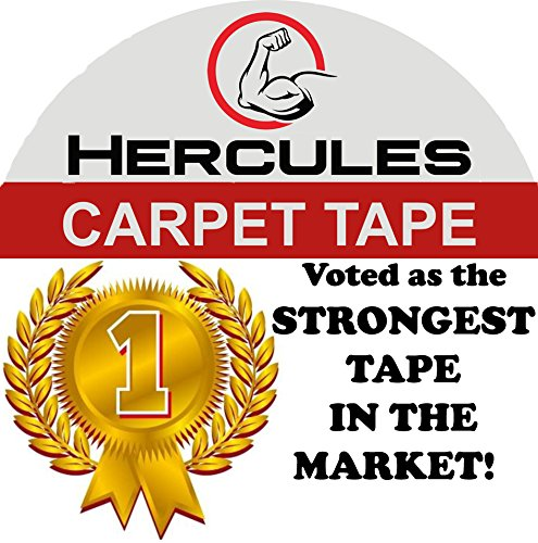 Sticky Foam Garden (ONE DAY SALE! Carpet Tape Double Sided, 35 yd. X 2 In. Military Grade Strength, Voted by professionals as the Strongest In The Market, Read our reviews, Longer Stronger & more Durable, by Hercules)