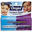 Orajel Oral Pain Reliever - Day/Night 2 Pk