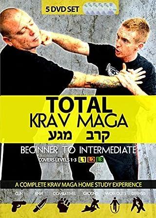 amazon com total krav maga home study course 5 dvds training rh amazon com Krav Maga Stance krav maga combatives training manual pdf