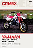Clymer Yamaha YZ125-490, 1985-1990: Service, Repair, Maintenance (CLYMER MOTORCYCLE REPAIR)