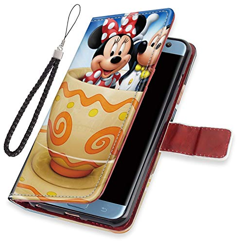 DISNEY COLLECTION Wallet Case for Galaxy S7 [5.1