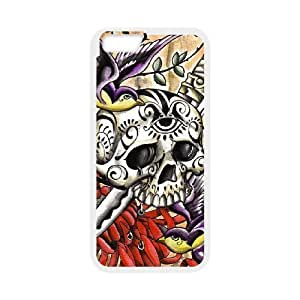 """EZCASE Artistic Skull Phone Case For iPhone 6 Plus (5.5"""") [Pattern-2]"""