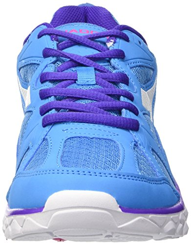 Mixte Gymnastique bianco Diadora Adulte c5696 Hawk Fluo Blu Multicolore 5 wqqZHEt