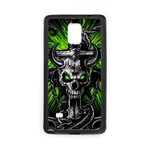 FLYBAI Skull Arts Phone Case For Samsung Galaxy note 4 [Pattern-1]
