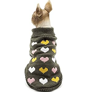 HAPEE Pet Clothes the lovely Cat Dog Sweater , Dog Accessories, Dog Apparel,Pet Sweatshirt