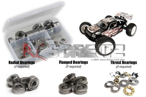 - RC Screwz Metal Shielded Bearing Kit for OFNA/Jammin X2 CRT #ofn045b
